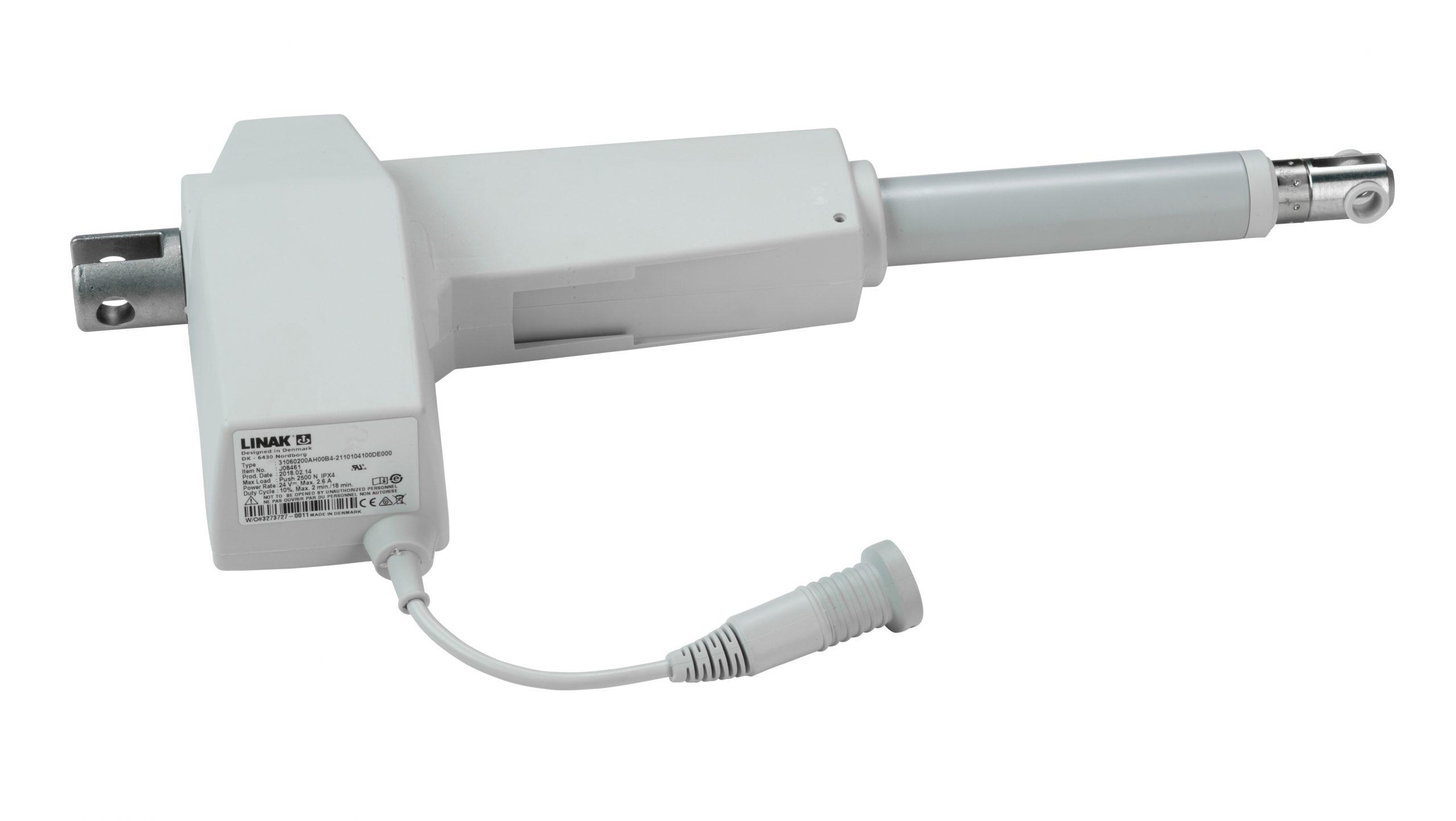 Linak LA31 – 2,500N Push – 200mm Stroke [Turned Trunnion]
