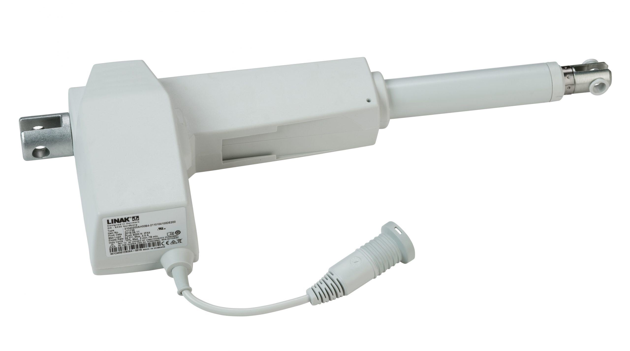 Linak LA31 – 6,000N Push – 200mm Stroke [Turned Trunnion]